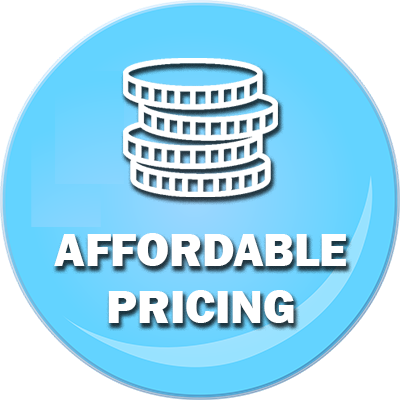 Affordable Pricing Badge